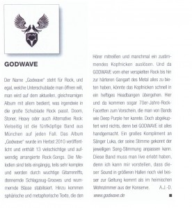 Musiker-Magazin 01/2011
