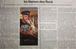 Im Namen des Rock (Quelle: Süddeutsche Zeitung)